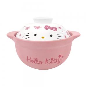 凱蒂貓 耐熱鍋-櫻花