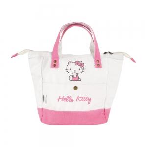 凱蒂貓 帆布保溫保冷袋-粉