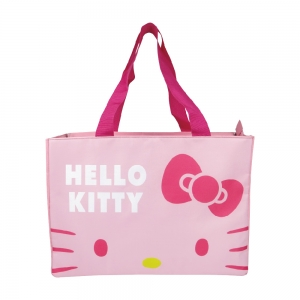 凱蒂貓 超大保冷暖肩背袋-粉
