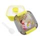 蠟筆小新 野趣保鮮便當盒(小)-黃
