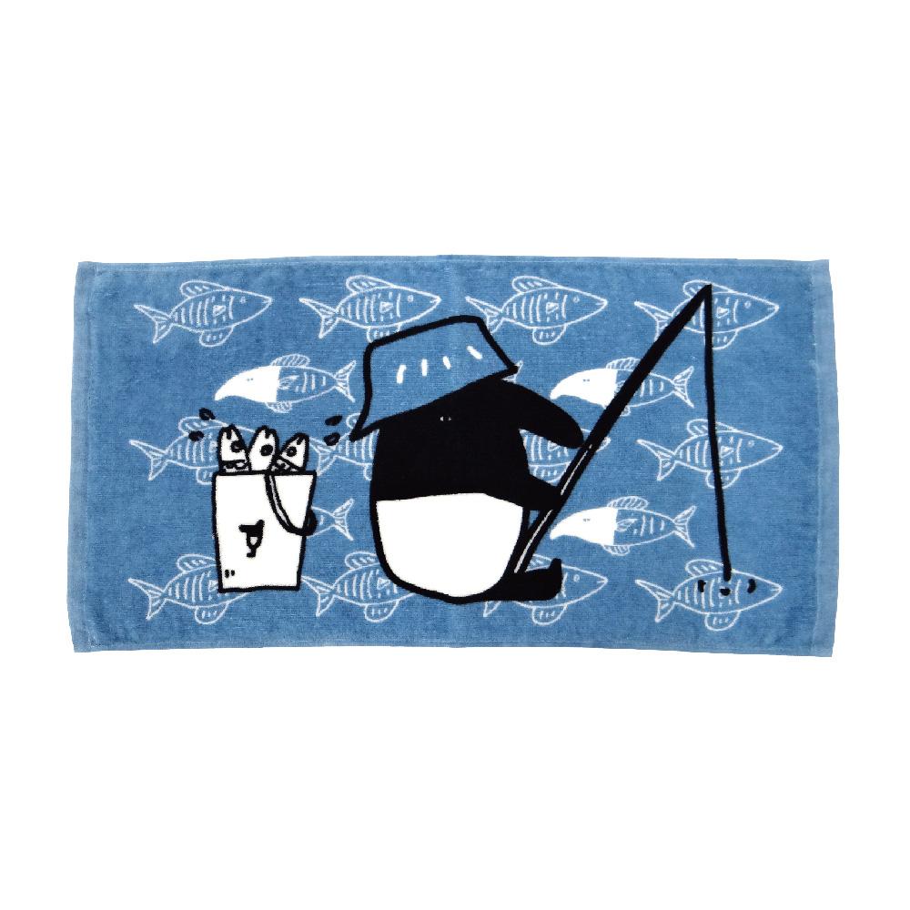 馬來貘-釣魚系列-童巾