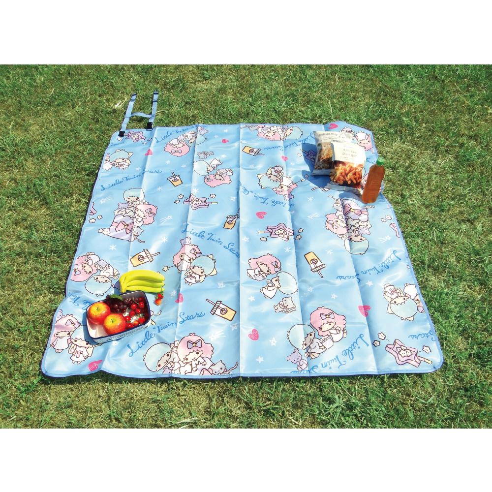 雙星仙子野餐墊-爆米花
