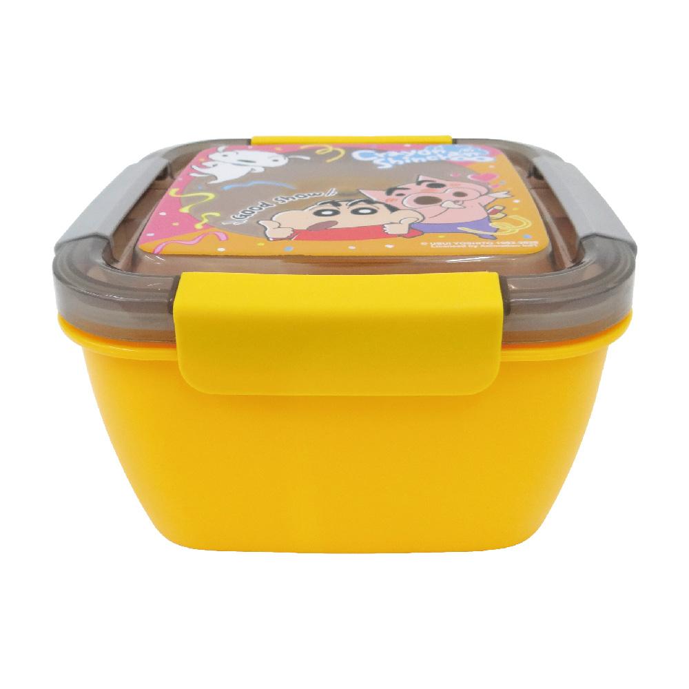 蠟筆小新-野趣保鮮便當盒-大-橘