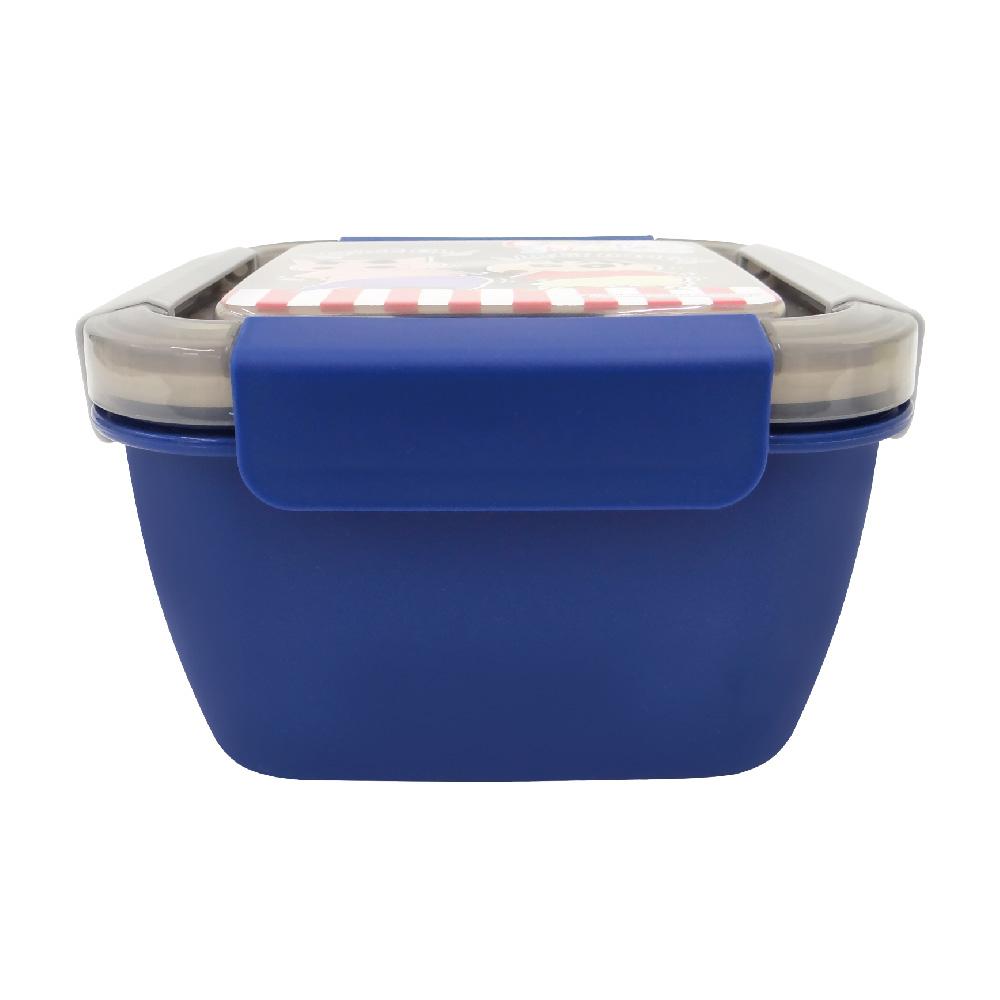 蠟筆小新-野趣保鮮便當盒-小-藍