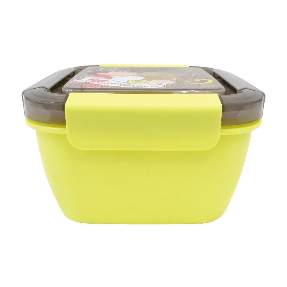 蠟筆小新-野趣保鮮便當盒-小-黃