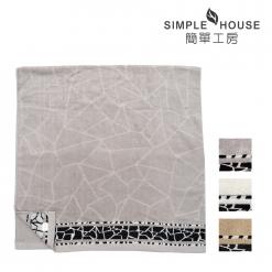 石紋雙股紗 浴巾