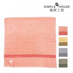 素色彩緞 浴巾