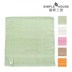 素色緞檔 浴巾