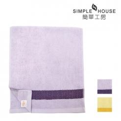 三角色緞提花 毛巾