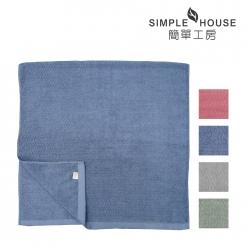 美國棉格紋浴巾