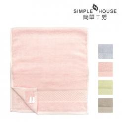 美國棉 緞檔 毛巾-素雅