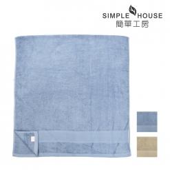 美國棉雅致緞檔浴巾