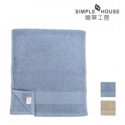 美國棉雅致緞檔毛巾