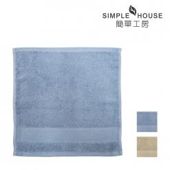 美國棉 緞檔 方巾-雅致