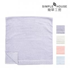 美國棉 緞檔 浴巾-愛心