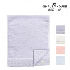 美國棉 緞檔 毛巾-愛心