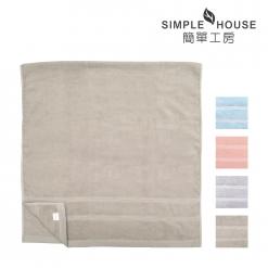 美國棉 緞檔 浴巾-半圓