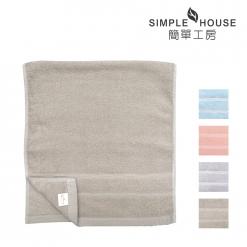 美國棉 緞檔 毛巾-半圓
