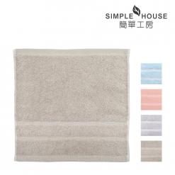 美國棉 緞檔 方巾-半圓