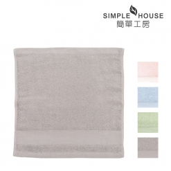 美國棉 緞檔 方巾-輕柔