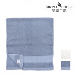 緞檔 毛巾-編織紋