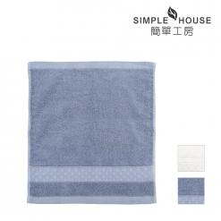 緞檔 方巾-編織紋
