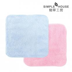 極超細纖維 方巾(長毛)