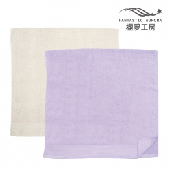 緞檔 浴巾-簡約緞條