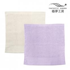 緞檔 方巾-簡約緞條
