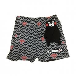 酷MA萌 日系和風平口褲-黑