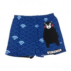 酷MA萌 日系和風平口褲-藍