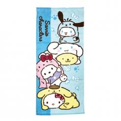 三麗鷗 狗年行大運毛巾-藍