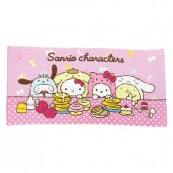 三麗鷗 狗年行大運浴巾-甜點