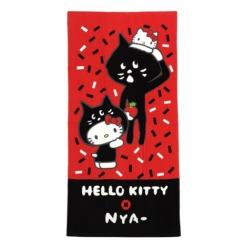 凱蒂貓 x NYA- 浴巾