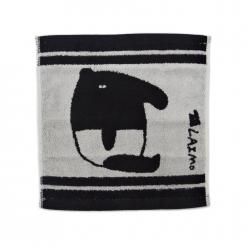 馬來貘 雙色提花方巾