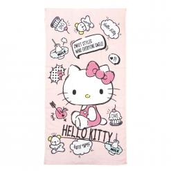 凱蒂貓的最愛 浴巾