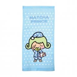 茶茶小王子 童巾-點點藍