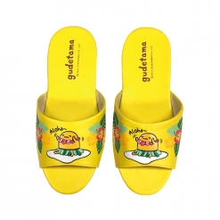 蛋黃哥 兒童室內拖鞋-Aloha