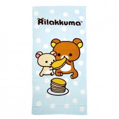 拉拉熊 浴巾-鬆餅