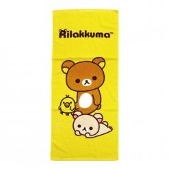 拉拉熊 毛巾-好夥伴
