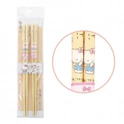 凱蒂貓 竹筷-最愛點心 (2雙入)
