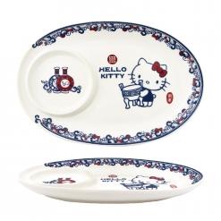 故宮x凱蒂貓 水餃盤