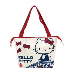 故宮x凱蒂貓 保冷暖提袋-米