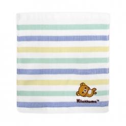 拉拉熊 刺繡 紗布方巾
