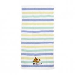 拉拉熊 刺繡 紗布童巾