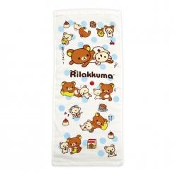 拉拉熊 紗布毛巾-懶熊生活
