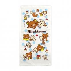 拉拉熊 紗布童巾-懶熊生活