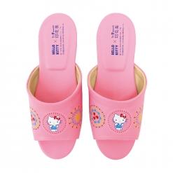 凱蒂貓x印花樂 成人室內拖鞋-煙花