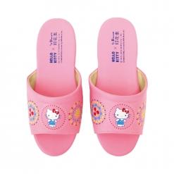 凱蒂貓x印花樂 兒童室內拖鞋-煙花