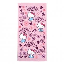 凱蒂貓x印花樂 浴巾-蒲公英
